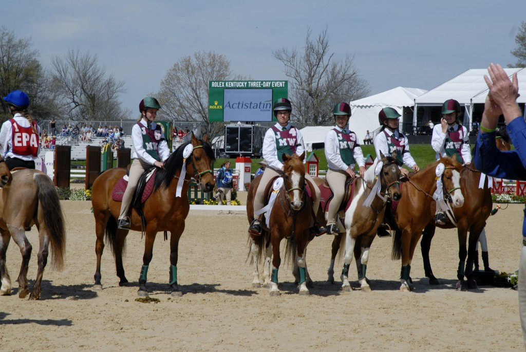 The Mustang Sallies at Rolex 2014!