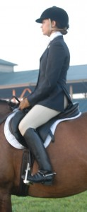 Appropriate Hunt Saddle and Saddle Pad