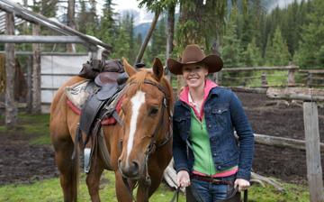 Western Riding in Alberta, Canada