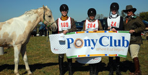 Pony Club Members Win at North American Junior Field Hunter Championships!